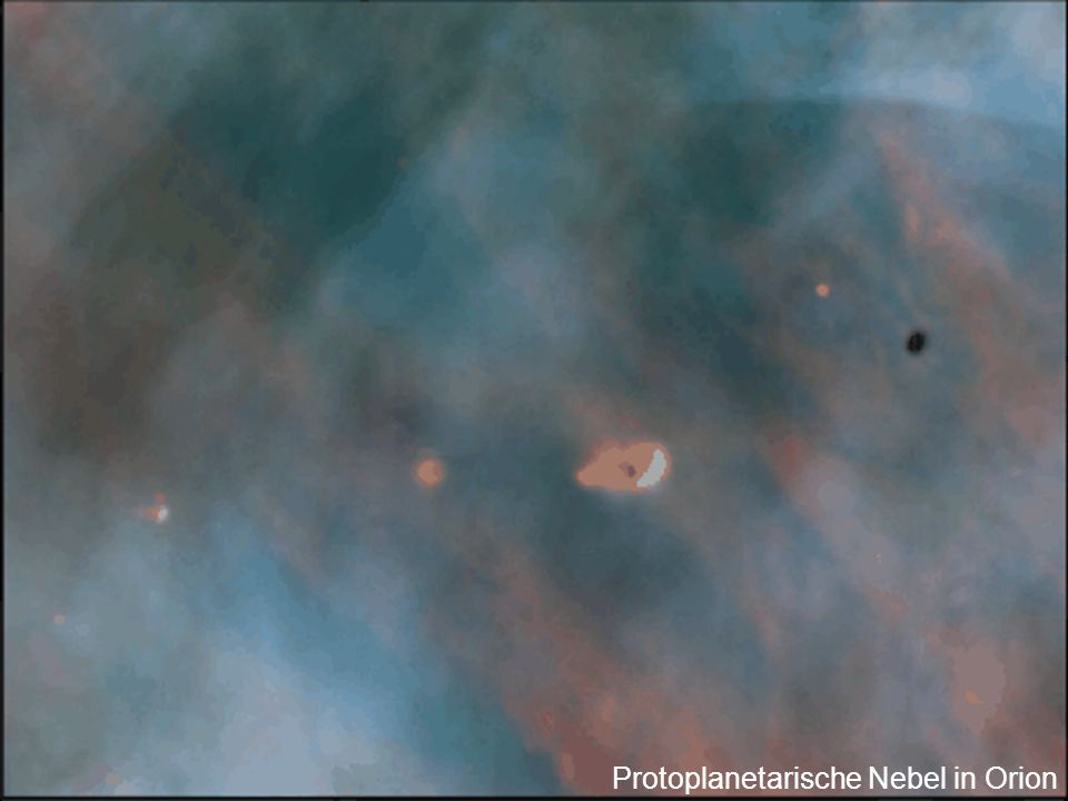 Protoplanetarische Nebel in Orion