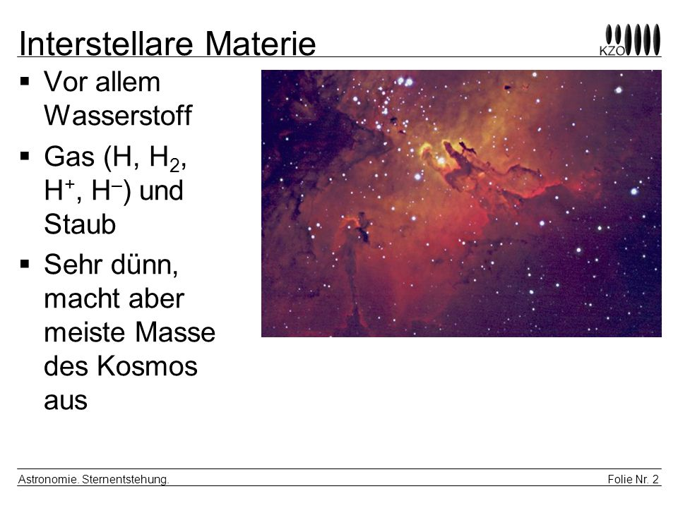 Interstellare Materie