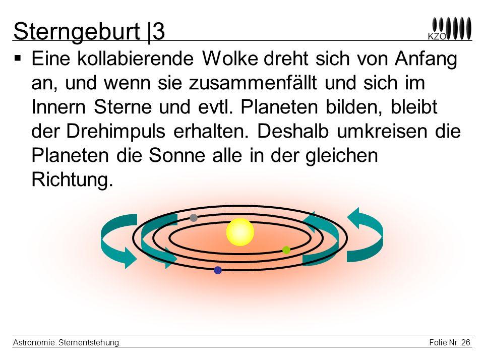 Sterngeburt |3