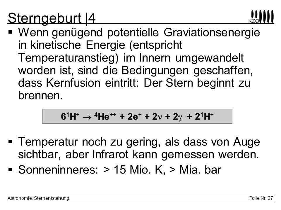 Sterngeburt |4