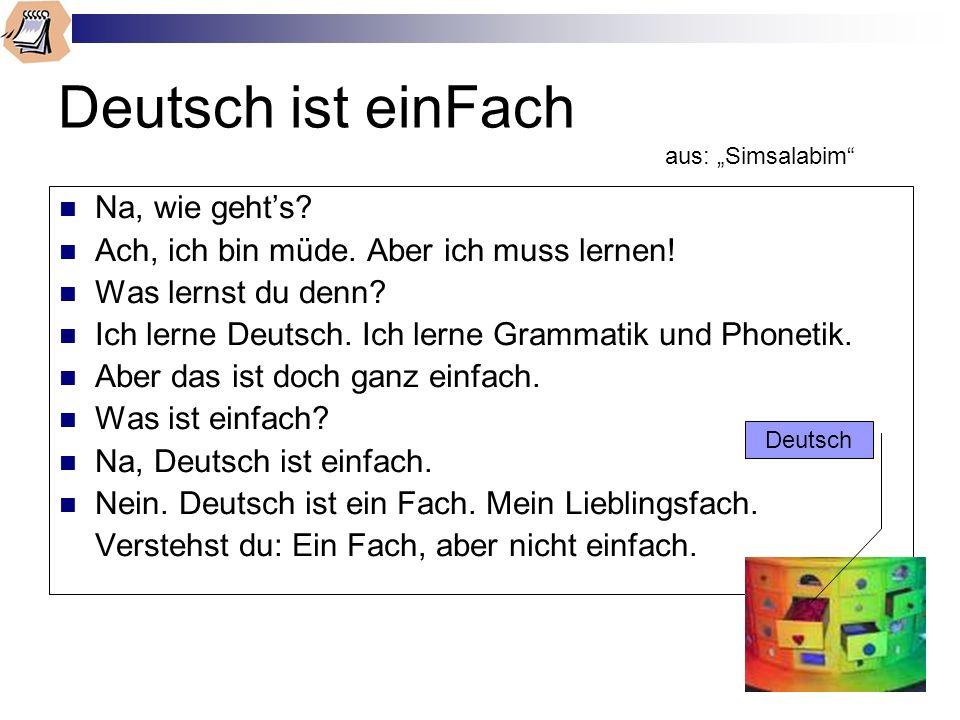 """Deutsch ist einFach aus: """"Simsalabim"""