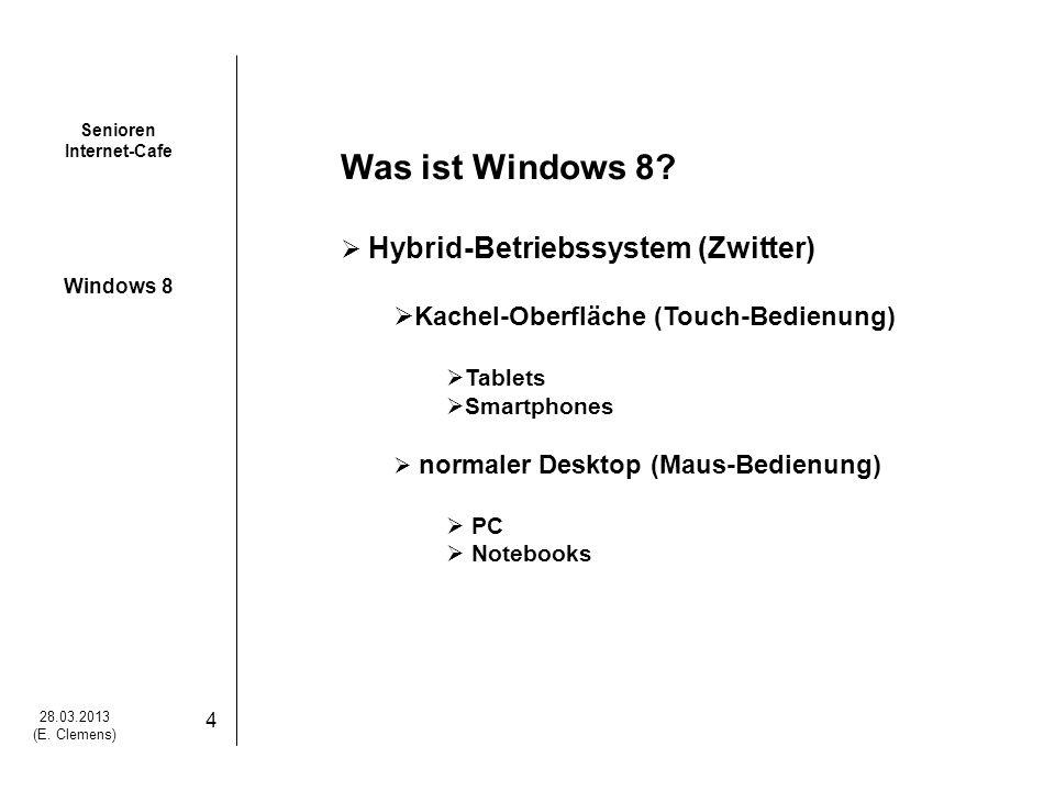 Was ist Windows 8 Hybrid-Betriebssystem (Zwitter)