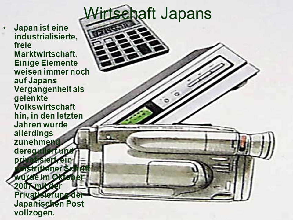 Wirtschaft Japans