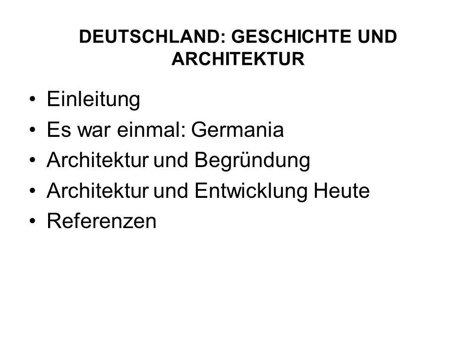DEUTSCHLAND: GESCHICHTE UND ARCHITEKTUR