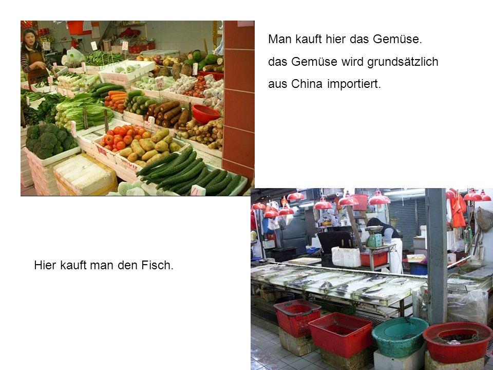 Man kauft hier das Gemüse.