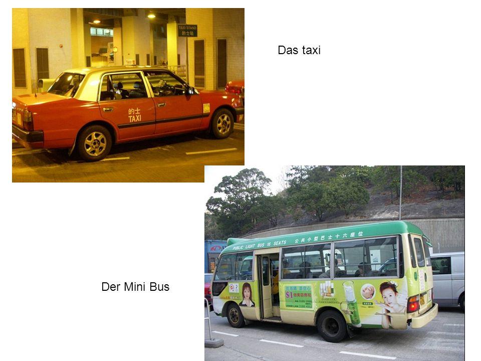 Das taxi Der Mini Bus