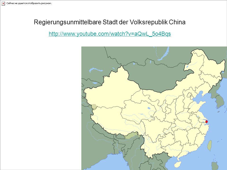 Regierungsunmittelbare Stadt der Volksrepublik China