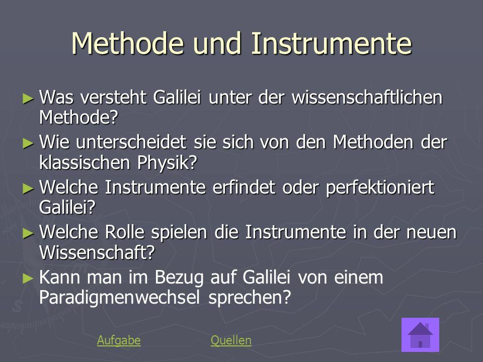 Methode und Instrumente