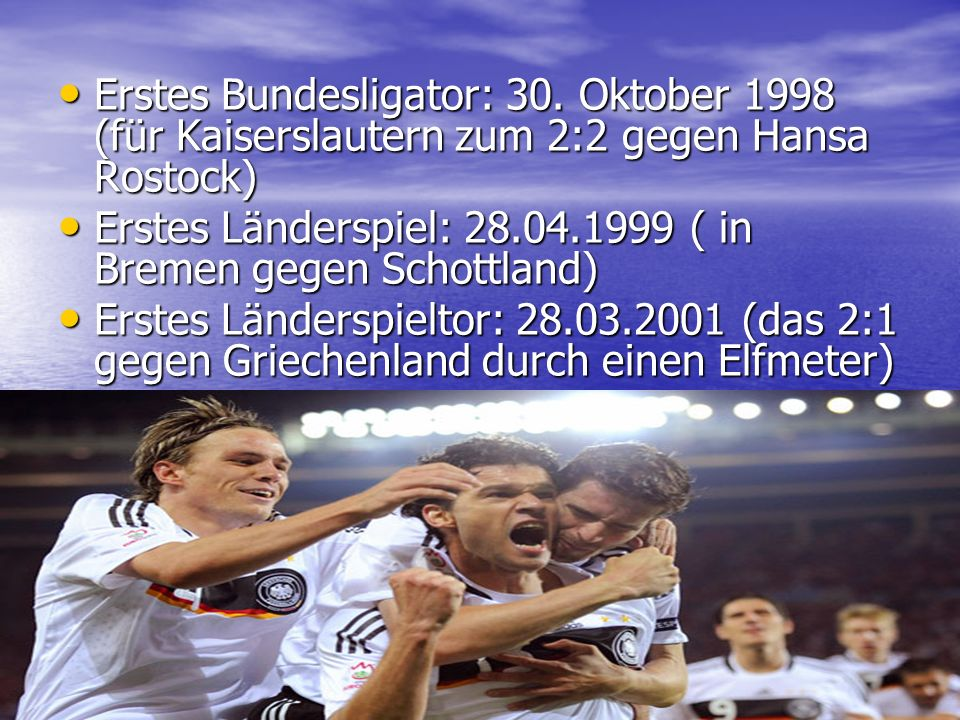 Erstes Bundesligator: 30