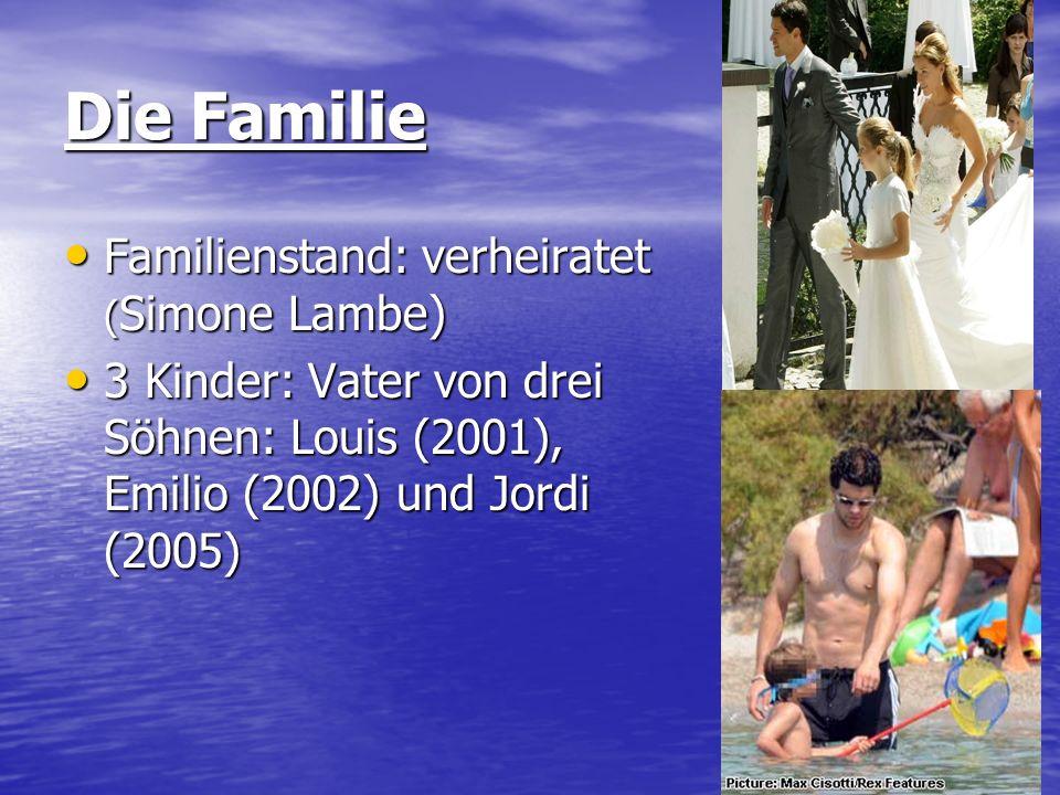 Die Familie Familienstand: verheiratet (Simone Lambe)