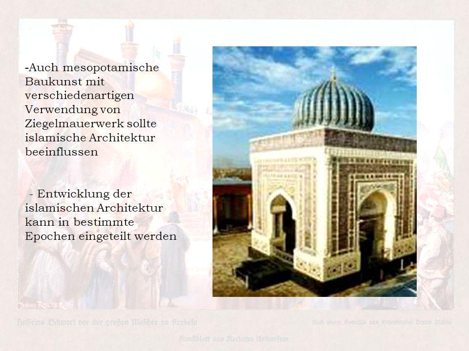 islamische architektur ppt video online herunterladen. Black Bedroom Furniture Sets. Home Design Ideas