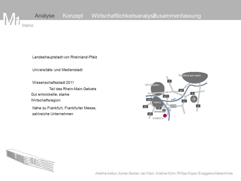 M M 1 Analyse Konzept Wirtschaftlichkeitsanalyse Zusammenfassung Mainz