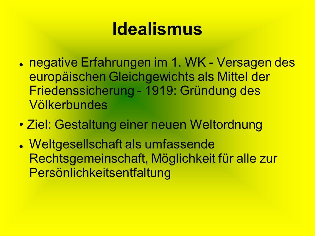Idealismus
