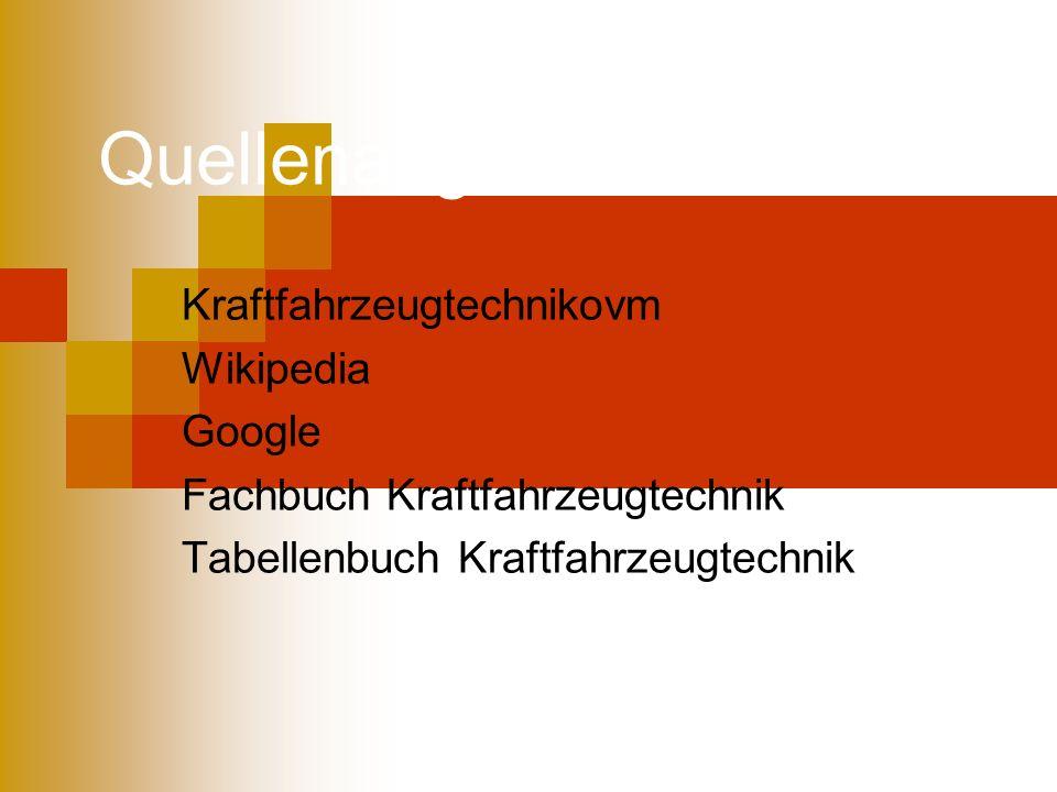Quellenangaben Kraftfahrzeugtechnikovm Wikipedia Google