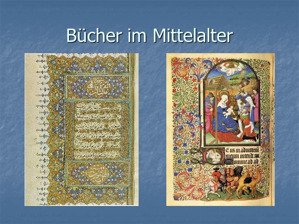 Bücher im Mittelalter