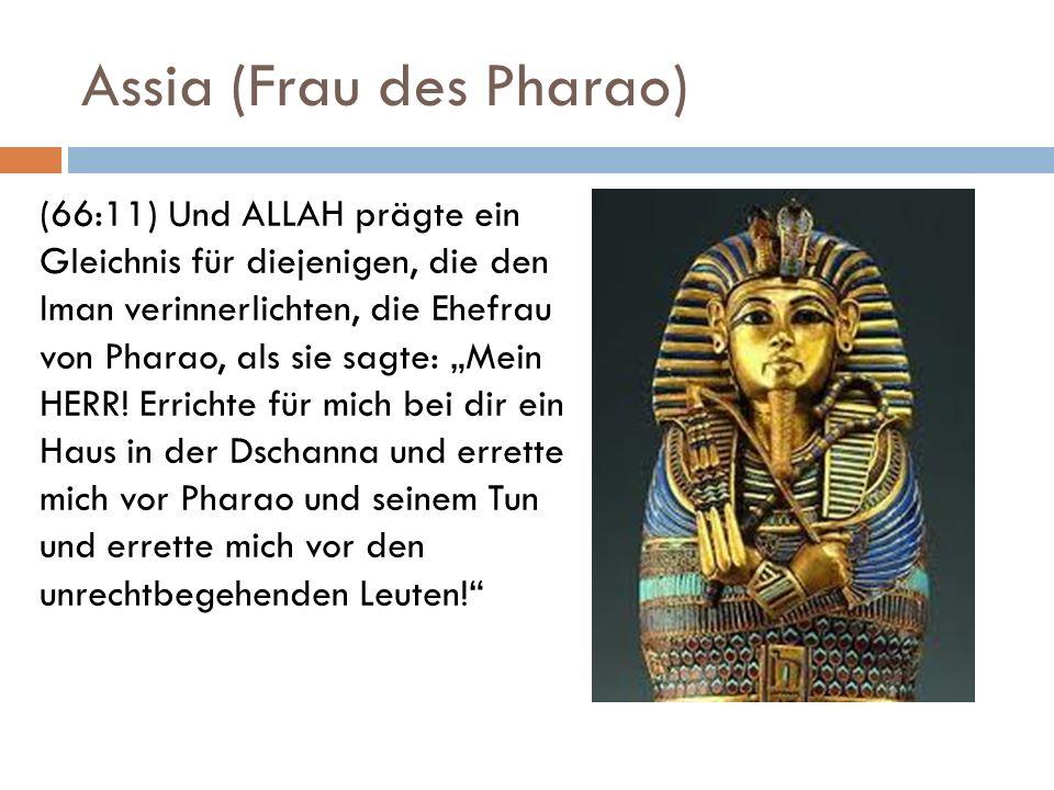 Assia (Frau des Pharao)