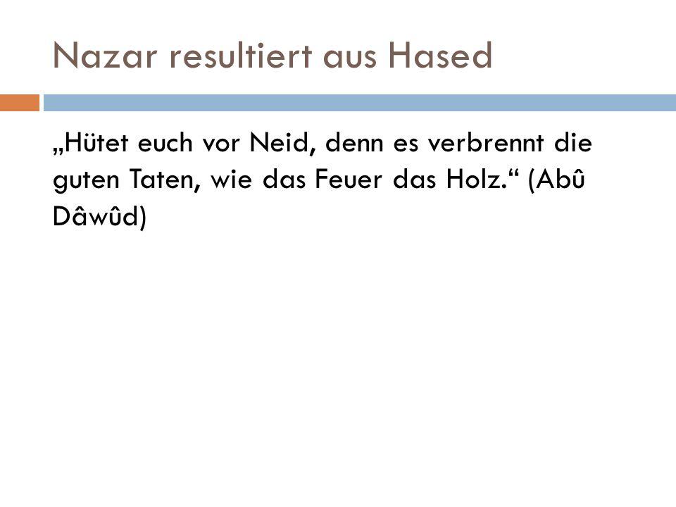 Nazar resultiert aus Hased