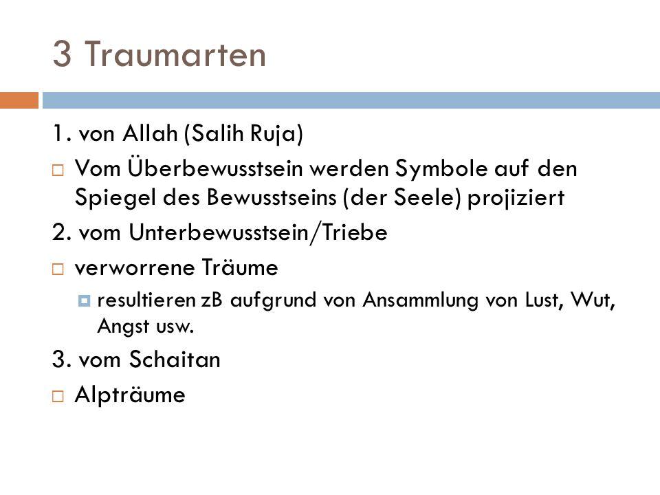 3 Traumarten 1. von Allah (Salih Ruja)