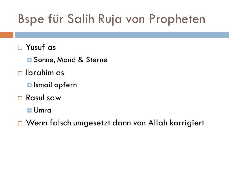 Bspe für Salih Ruja von Propheten