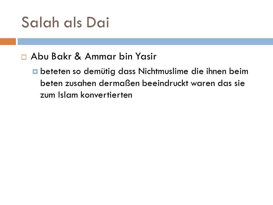 Salah als Dai Abu Bakr & Ammar bin Yasir