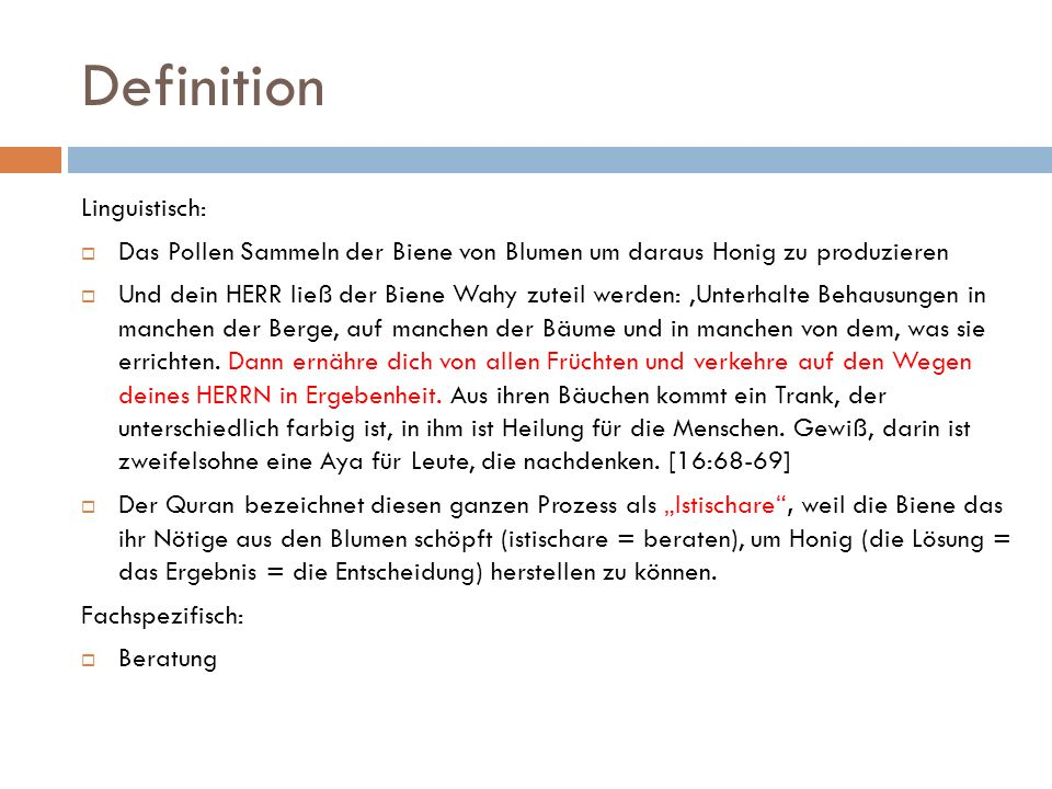 Definition Linguistisch: