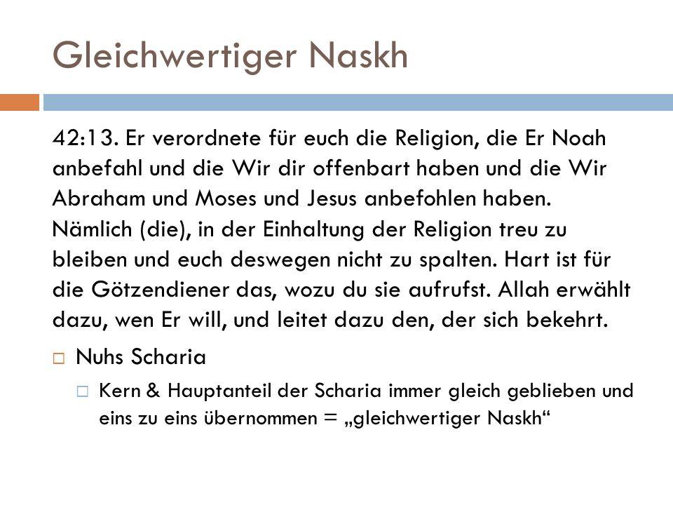 Gleichwertiger Naskh