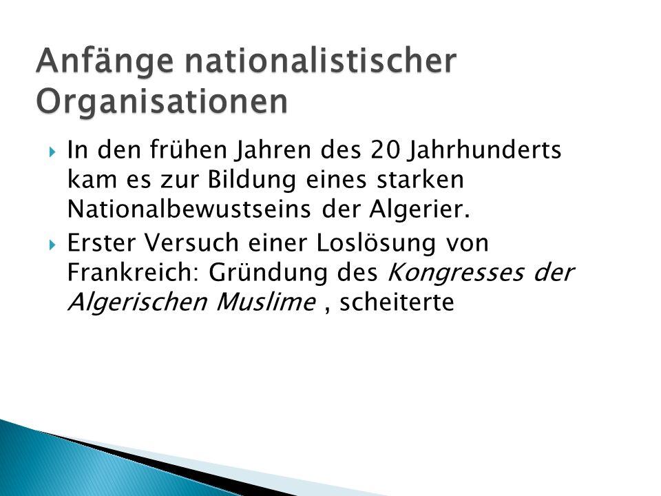 Anfänge nationalistischer Organisationen