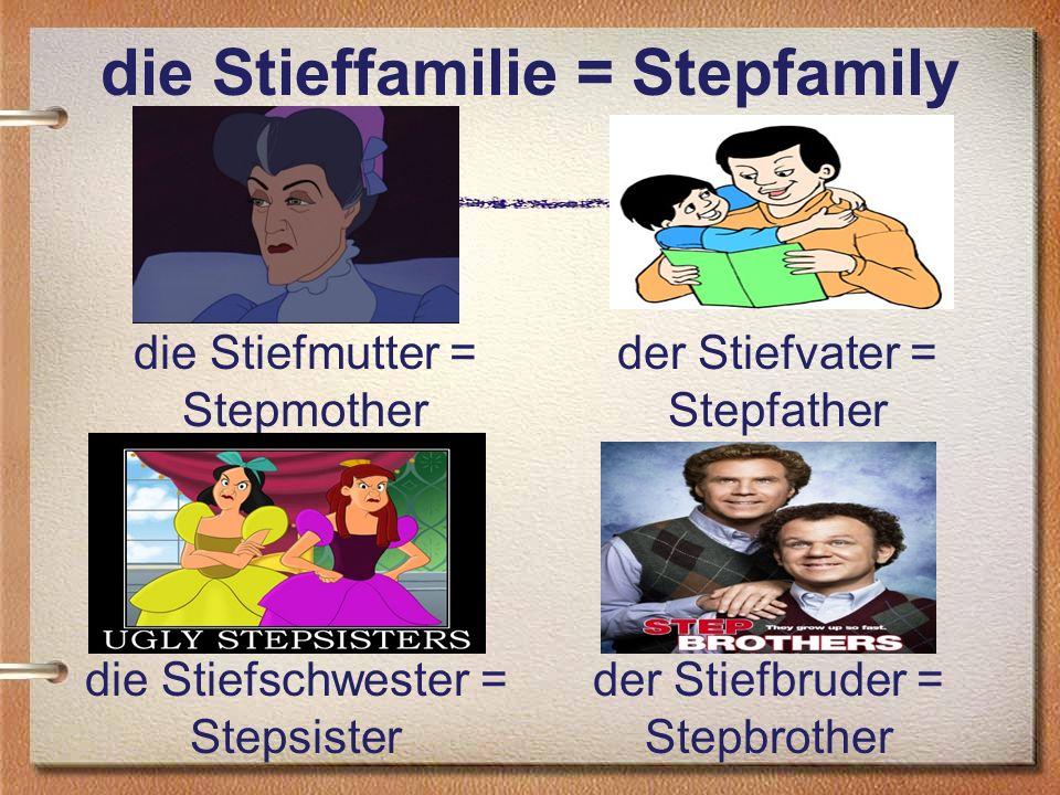 die Stieffamilie = Stepfamily