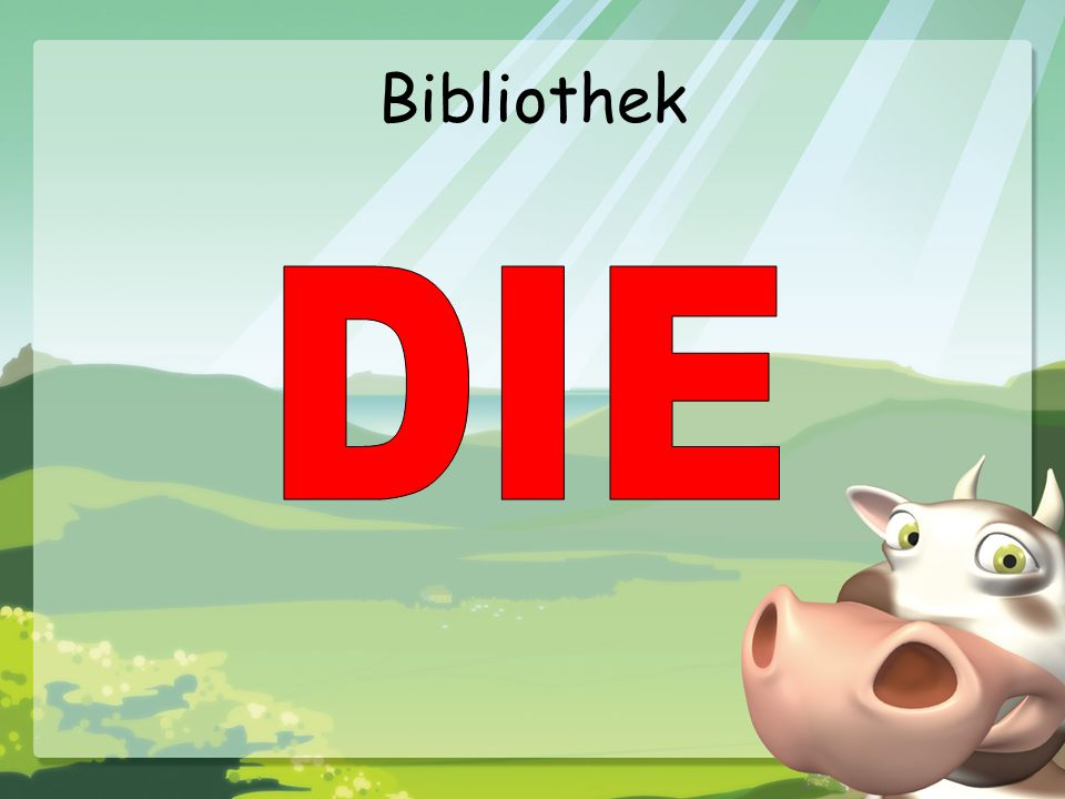 Bibliothek DIE