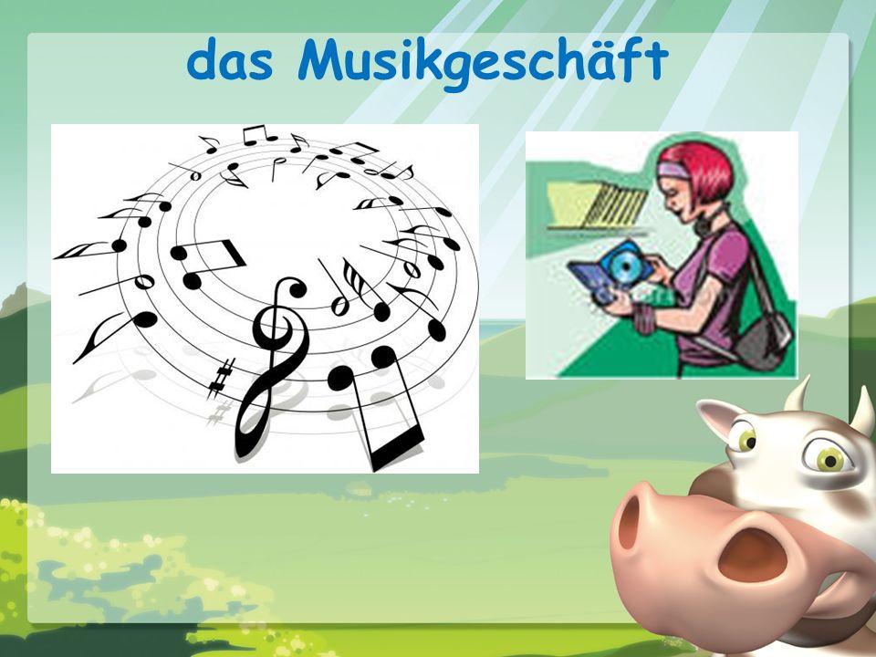 das Musikgeschäft
