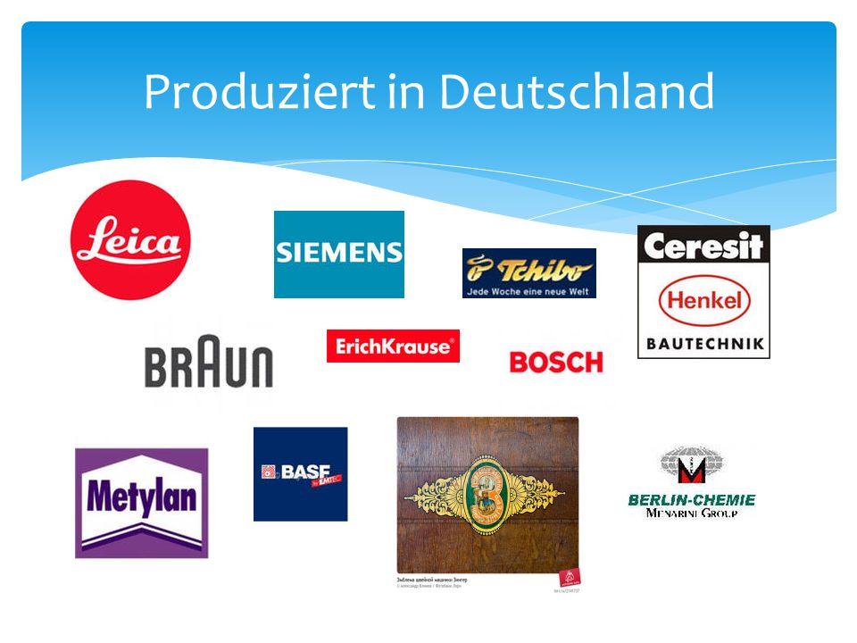 Produziert in Deutschland