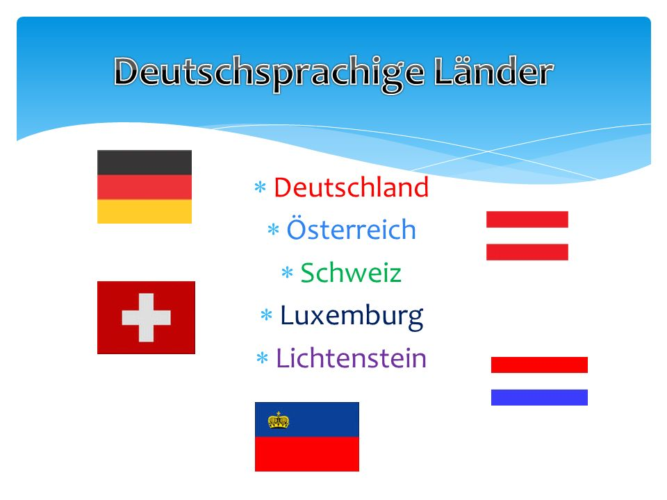 Deutschsprachige Länder