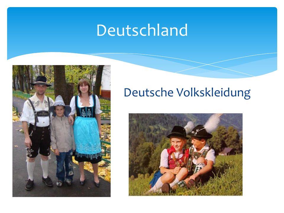 Deutschland Deutsche Volkskleidung