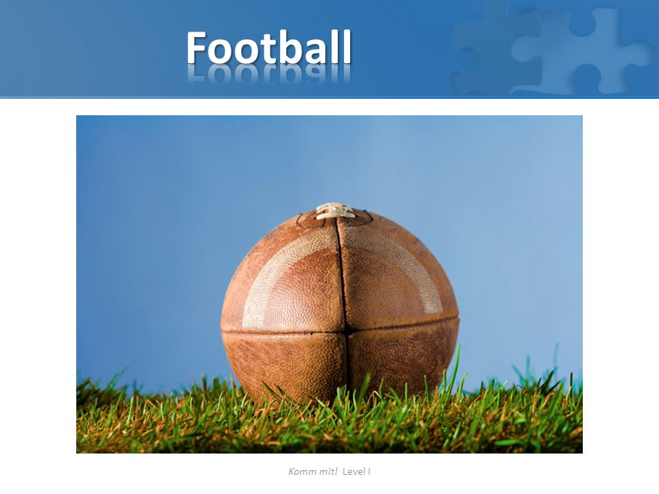 Football Komm mit! Level I