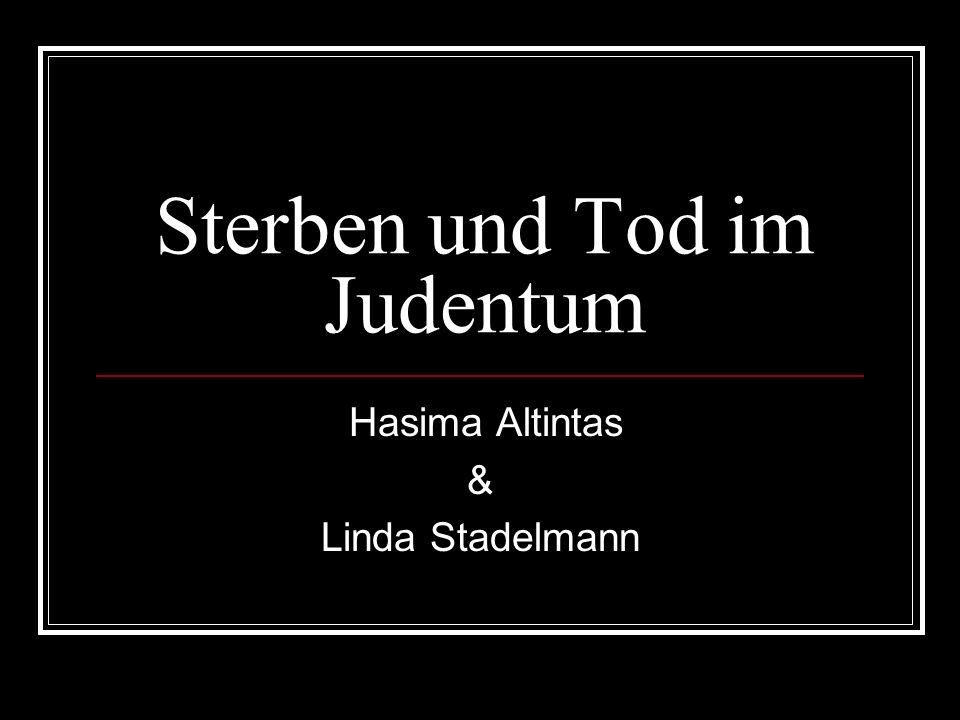 Sterben und Tod im Judentum