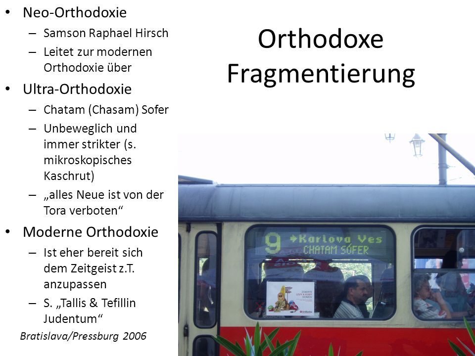 Orthodoxe Fragmentierung