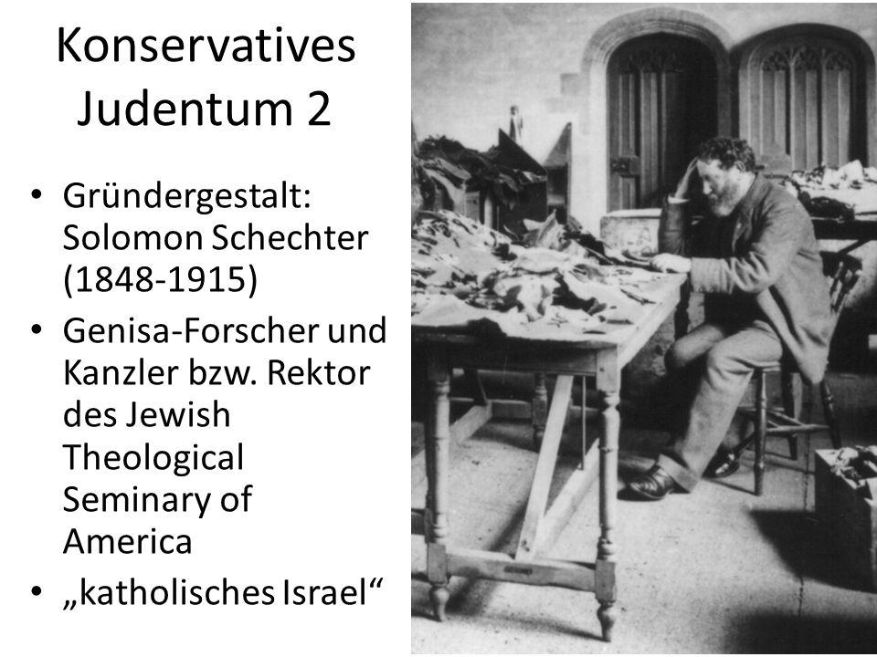 Konservatives Judentum 2