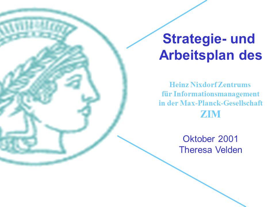 Strategie- und Arbeitsplan des
