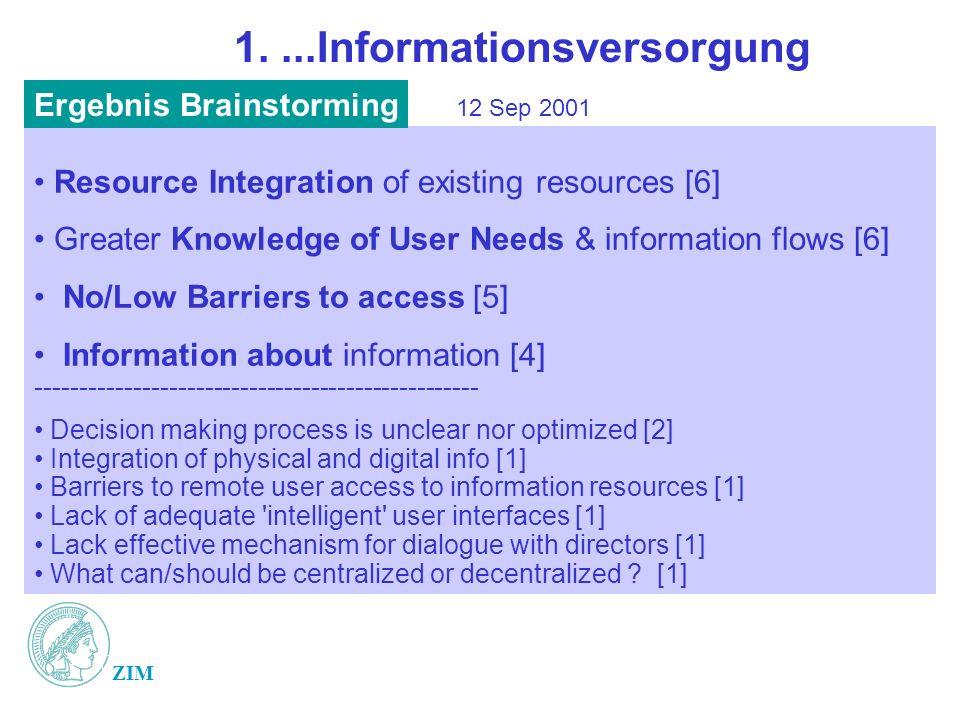 1. ...Informationsversorgung