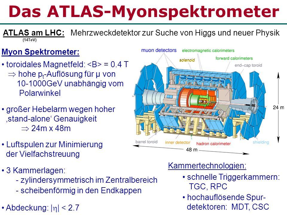 Das ATLAS-Myonspektrometer