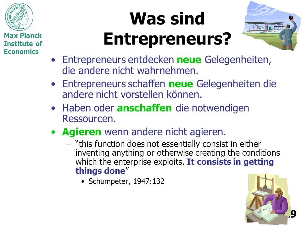 Was sind Entrepreneurs