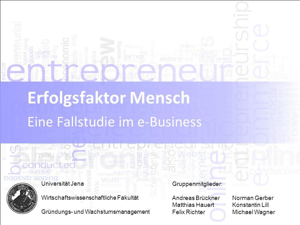 Eine Fallstudie im e-Business