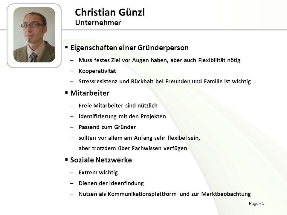 Christian Günzl Unternehmer