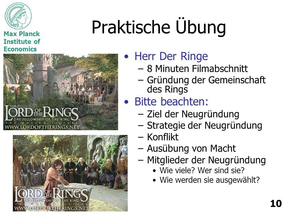 Praktische Übung Herr Der Ringe Bitte beachten: