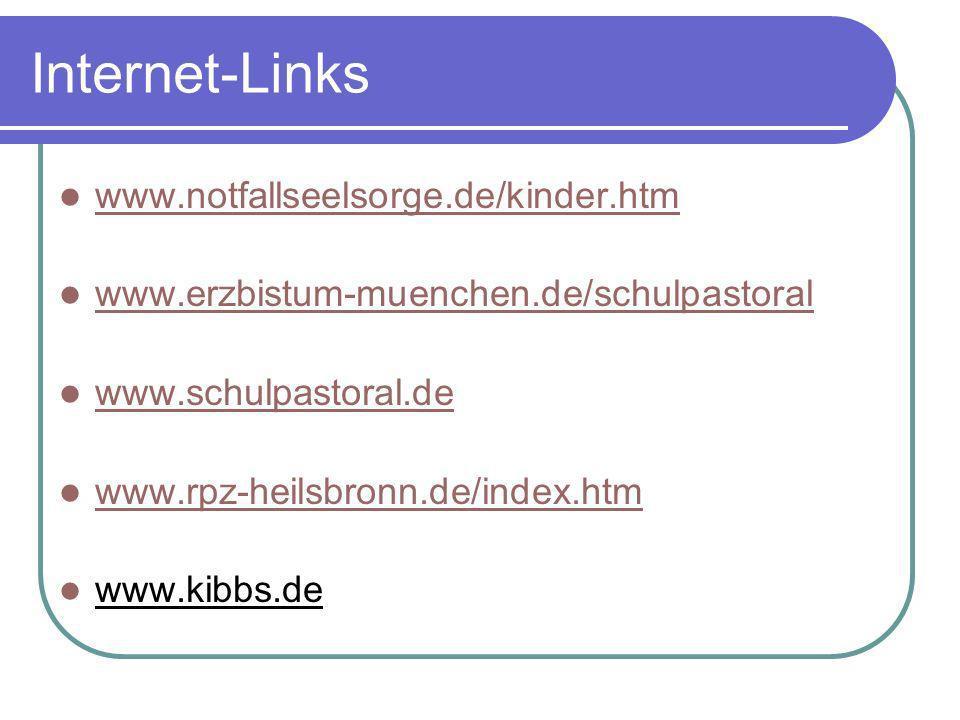 Internet-Links www.notfallseelsorge.de/kinder.htm