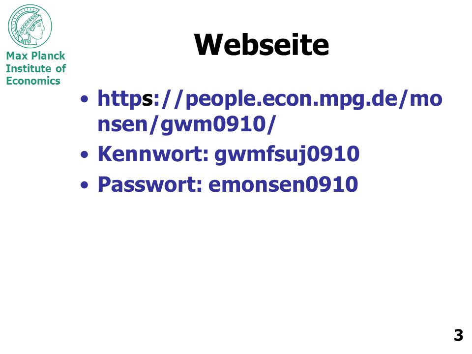 Webseite https://people.econ.mpg.de/monsen/gwm0910/
