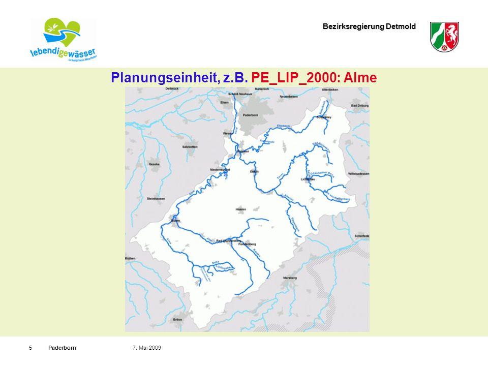 Planungseinheit, z.B. PE_LIP_2000: Alme