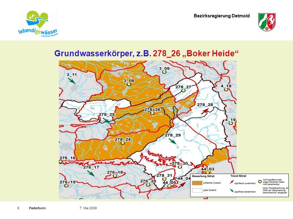 "Grundwasserkörper, z.B. 278_26 ""Boker Heide"