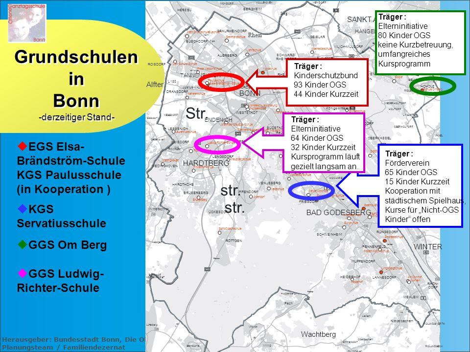 Grundschulen in Bonn -derzeitiger Stand-