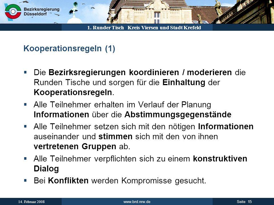 Kooperationsregeln (1)